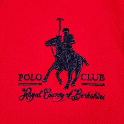 RCB POLO CLUB LADIES POLO TEE SOLID RFTS10200-BB 00H