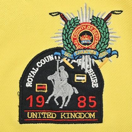 RCB POLO CLUB LADIES TEE YELLOW RFTS003-SB