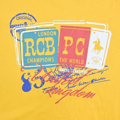 RCB POLO CLUB BOYSROUND NECK TEE RBRN11273-BB OY3